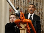 President Obama Tapes Intro for 'Cosmos' Reboot