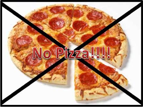 Michelle Obama: No Pizza for You!