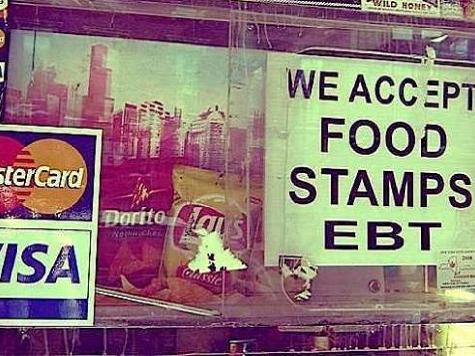 Food Stamps Up 39% Under Obama, Disability Up 13%