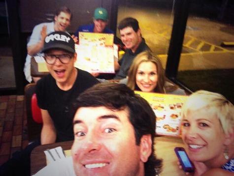 Bubba Watson Celebrates Masters Win at Waffle House