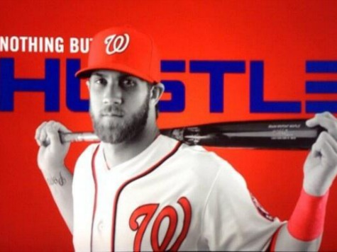 Awkward: 'Nothing But Hustle' Bryce Harper Cover on Nationals Program Day After Superstar Benched