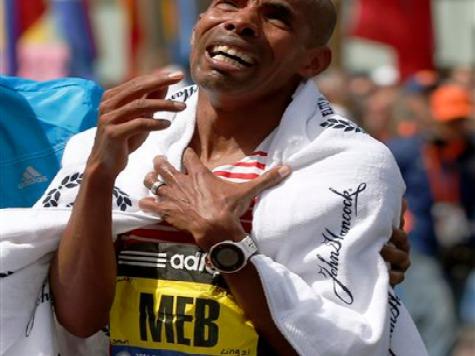 American Boston Marathon Winner Had Names of Victims on Bib