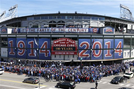 Wrigley Field Celebrates 100 Years of Baseball