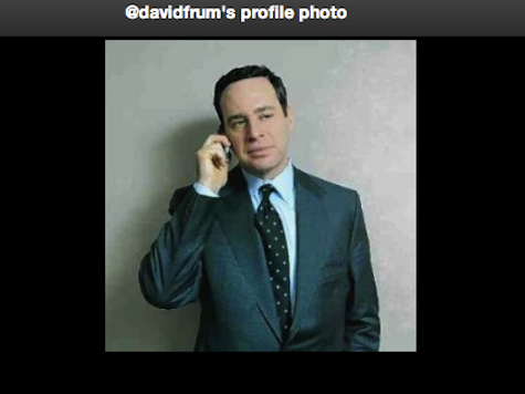 Did You Know That David Frum Has Used a Cell Phone?