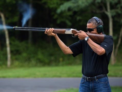 White House Warns: Don't Photoshop Obama Gun Pic