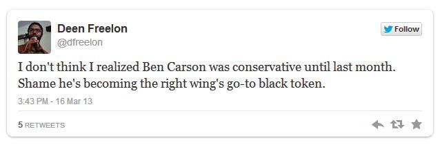 American University Professor hate tweets Dr. Benjamin Carson