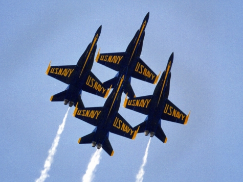 Blue Angels Air Shows Canceled for 2013