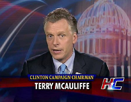 Questions mount for former DNC chair Terry McAuliffe. Is this the next Democrat green-doggle?