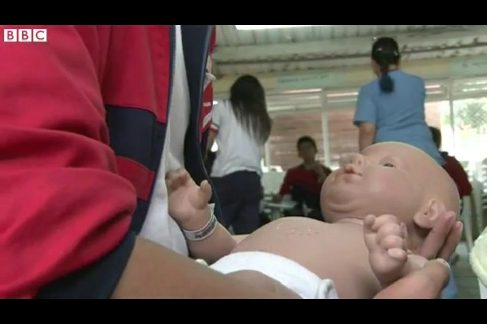 Robotic Babies Used To Deter Teen Pregnancies