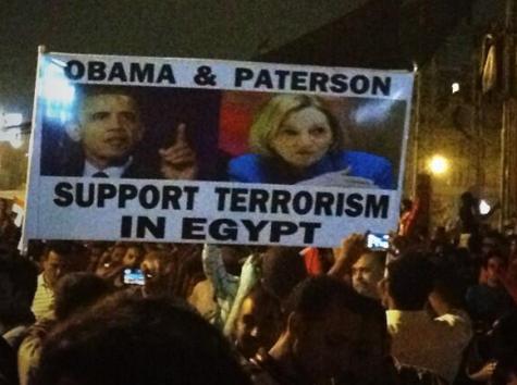 Egypt Opposition Blames U.S. for Supporting Morsi Regime