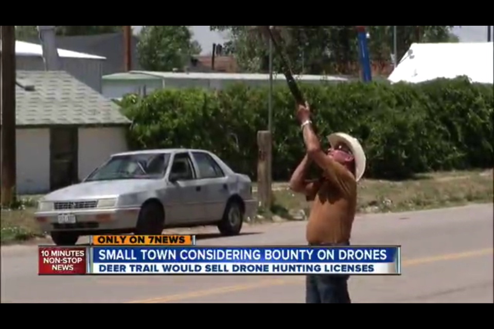 CO Town Considering Hunting Licenses To Shoot Down Federal Drones, Offering Bounties