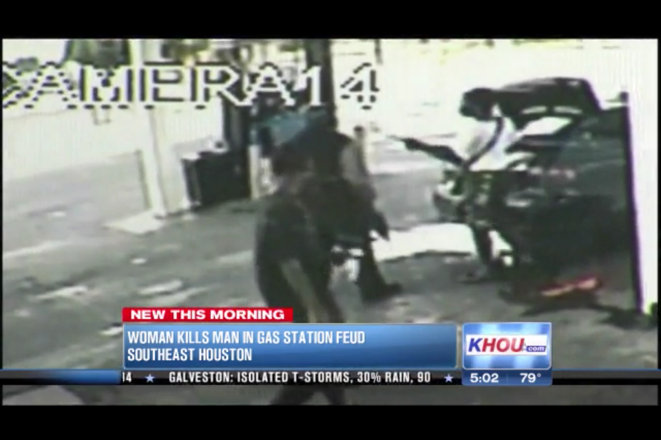 SHOCK VIDEO: Rifle-toting Woman Allegedly Shoots, Kills Man Outside Houston Gas Station