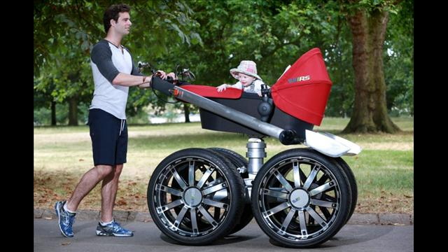 European Car Company Designs Man-Style Baby Stroller