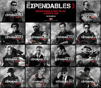 Robert Davi in The Expendables 3!