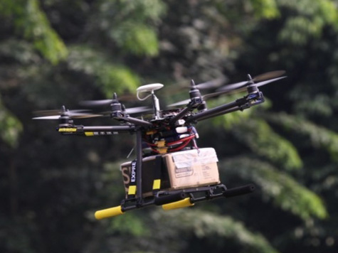 Chinese Delivery Company Develops Drone To Fly Packages To Doorsteps