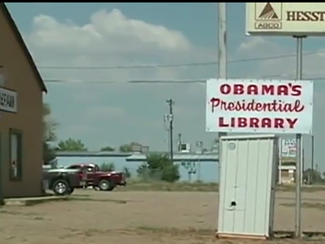 Outrage over Outhouse Labeled 'Obama's Presidential Library'