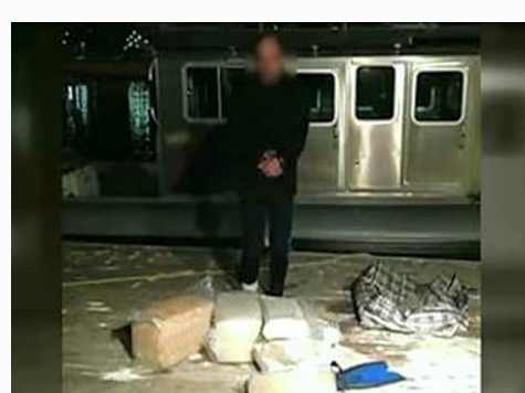 Police: Man Floats Across Mexican Border On Fifty Pounds of Marijuana