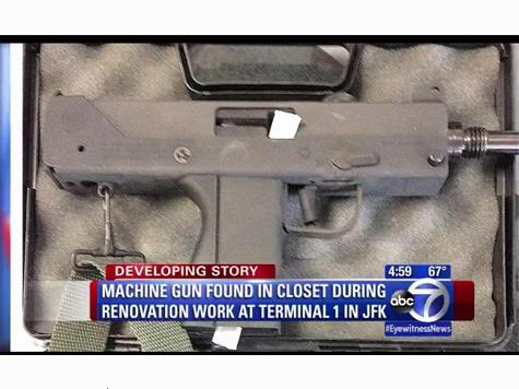 Machine Gun Found in JFK Airport Terminal