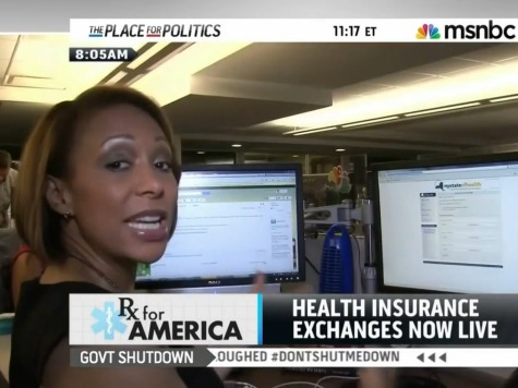 Video: Glitches Force MSNBC to Give Up on Health Care Exchange Sign Up Attempt