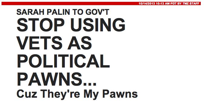 TMZ's Low Blow Attack On Sarah Palin