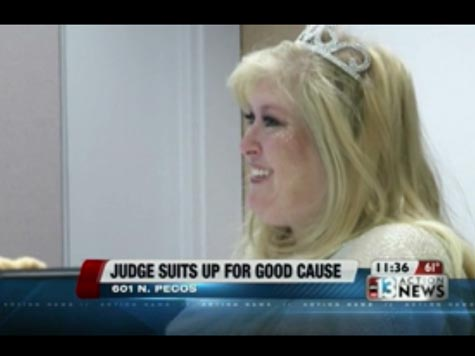Judge Dons Fairy Godmother Costume During Adoption Ceremony