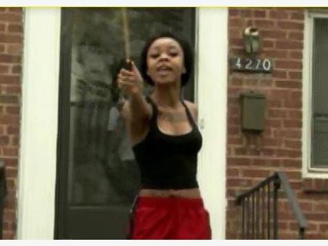 VIDEO: Woman Attacks TV News Crew