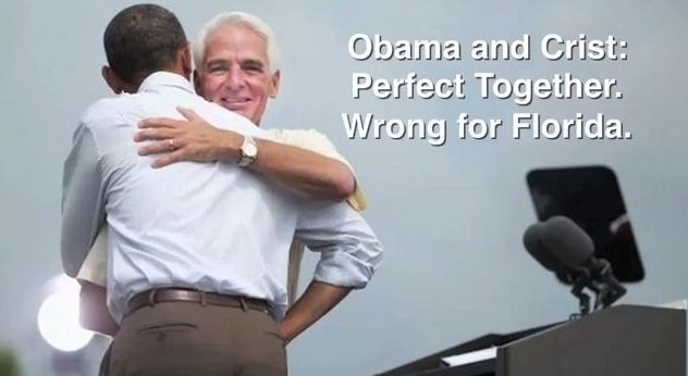 Charlie Crist or Barack Obama, Whats' The Difference?