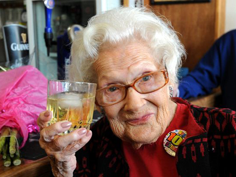 100-Year-Old Woman Has Smoked Nearly Half a Million Cigarettes
