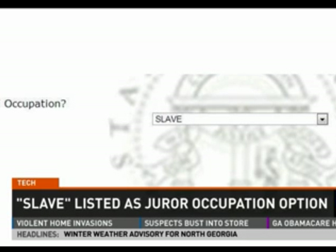 Juror Form Lists 'Slave' as Occupation