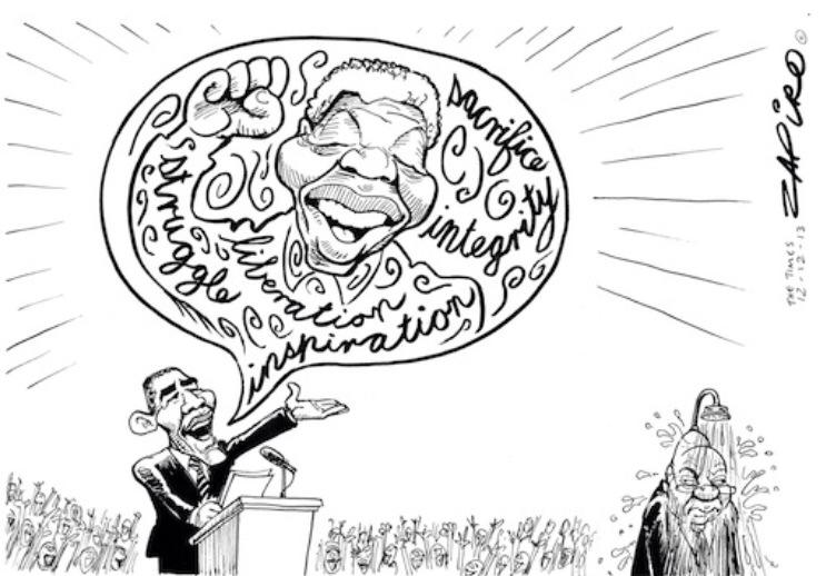 Why South Africans Liked Obama's Mandela's Speech