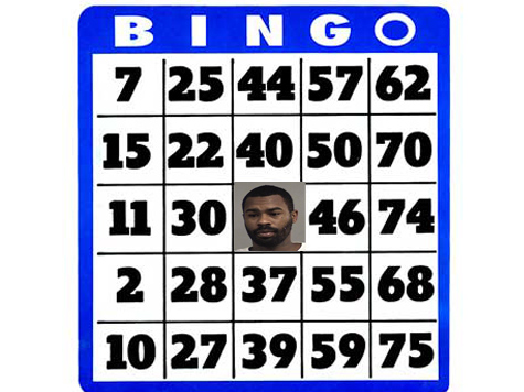 Man Arrested Running Through Bingo Hall With Pants Down Yelling 'Bingo'