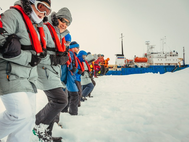 Antarctic Expedition to Plant 'Thousands of Trees' to Off Set Carbon Footprint of Rescue
