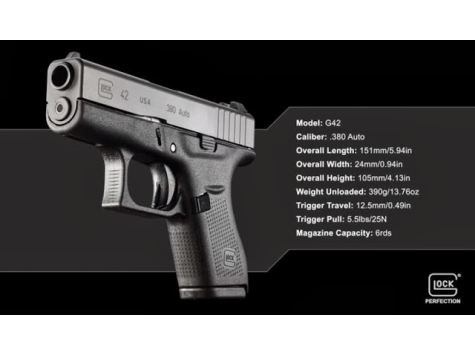 Glock Introduces the G42 .380 Auto