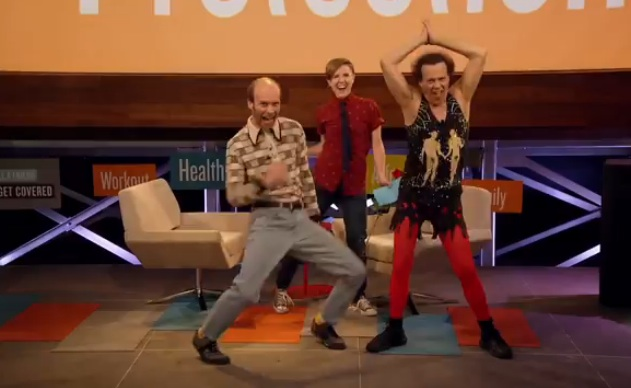 Watch: Richard Simmons Dances Like a Maniac During Obamacare Telethon