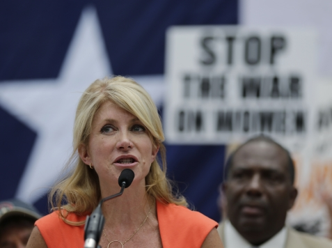Wendy Davis Feminism: Stand By Your Man Until the Bills Are Paid