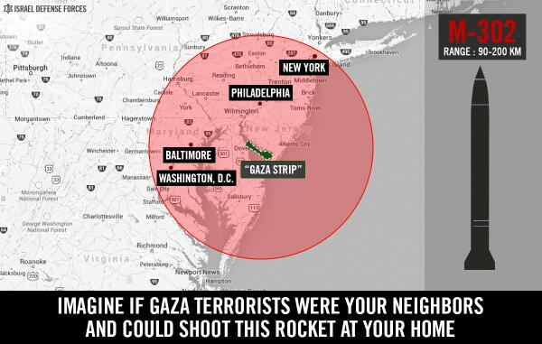 Iran's Gaza-Bound Missiles Could Hit New York, DC–from New Jersey