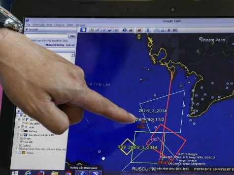 Tomnod Website Crowdsources Satellite Images to Search for Malaysia Airplane