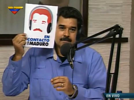 Venezuelan President Launches New Radio Show 'In Touch with Maduro'