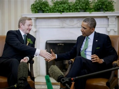 Ireland's Prime Minister Pushes for Immigration Reform During Visit