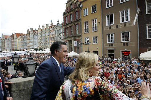 Two Years After Romney, Biden Visits Poland
