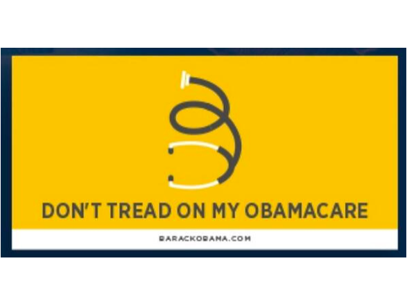 Democrats Steal Tea Party Symbol to Promote Obamacare
