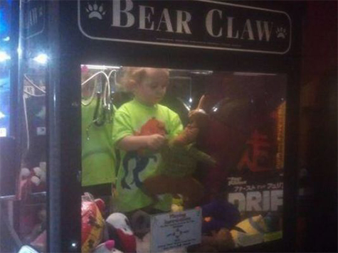Missing 3-Year-Old Found Inside Bowling Alley Vending Machine