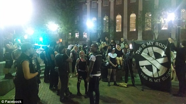 Satanic Temple Ends Up Holding Lightly Attended Black Mass Off Harvard Campus