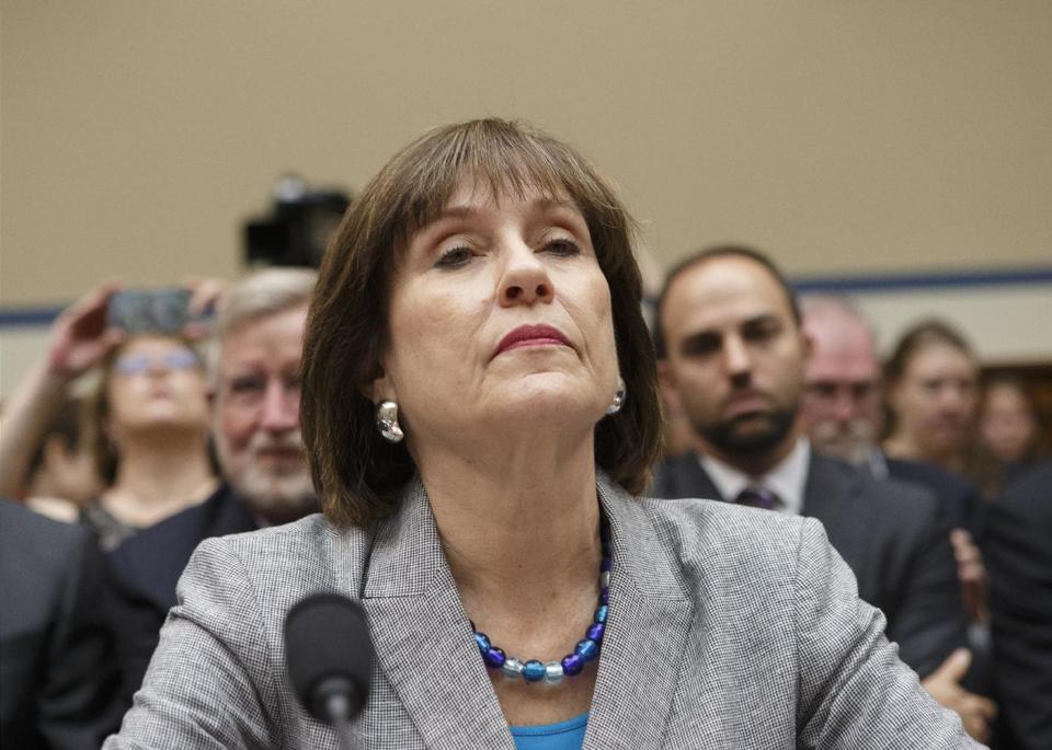 IRS: Lois Lerner's Emails to Outside Agencies Are Gone