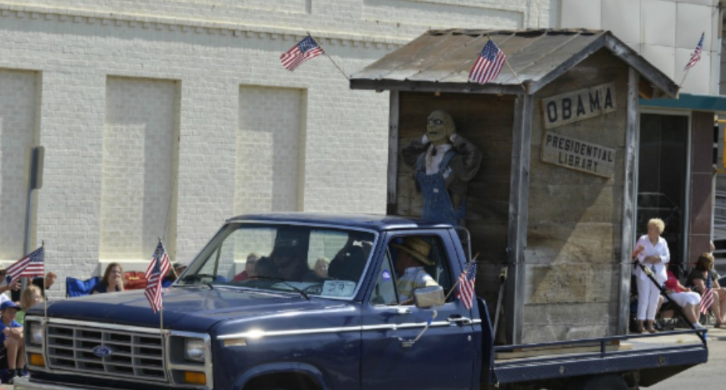 Holder DOJ Finally Finds A Scandal Worth Investigating – An Anti-Obama Parade Float