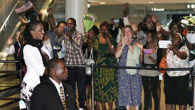 Meriam Ibrahim Arrives on US Soil