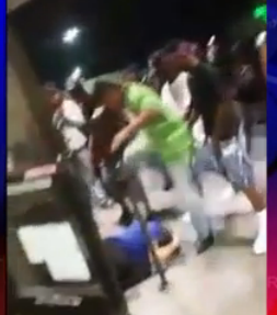 Raw Video: Black Memphis Teen Gang Brutally Beats 3 in Kroger Lot