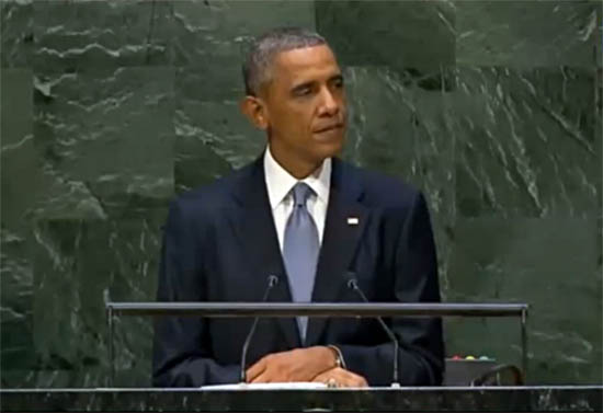 In U.N. Speech Obama Drops Claim 'ISIL is Not Islamic'