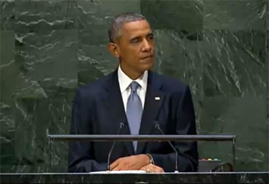 In U.N. Speech Obama Drops Claim 'ISIL is Not Islamic'