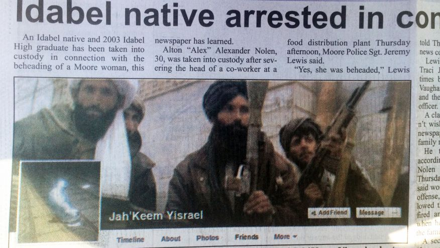 OK Beheading Suspect  Now Goes By Jah'Keem Yisrael – Was Fired After Argument Over Stoning